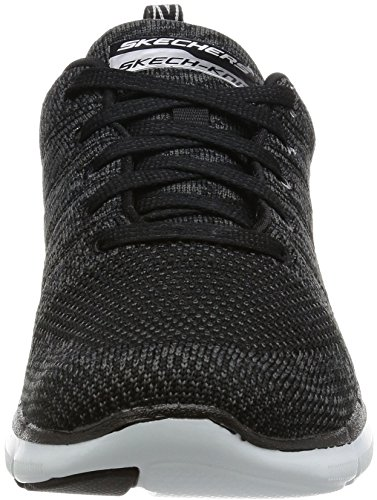 Skechers Damen Flex Appeal 2.0-High Energy Turnschuhe Schwarz (Bkw)