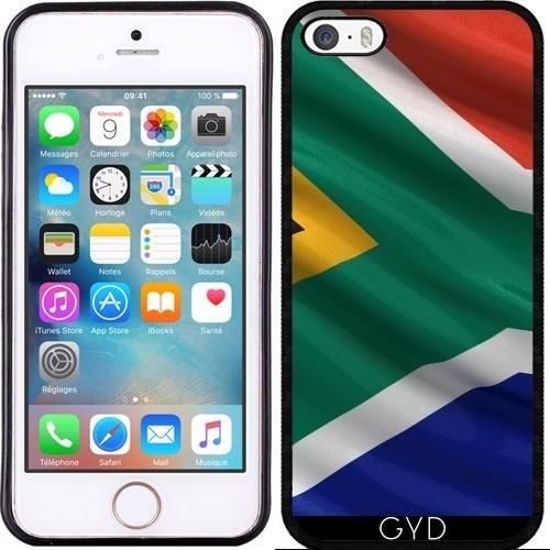 Coque pour Iphone 6 Plus (5,5'') - Drapeau De L'afrique Du Sud by Carsten Reisinger Silicone