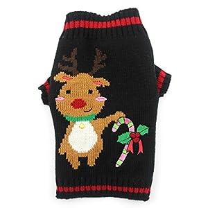 Pull chien Kolylong Vêtements de Noël chiot chandail d'hiver Manteau Costume