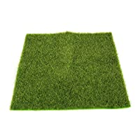 Janly  Artificial Faux Garden Grass Lawn Moss Miniature Craft Dollhouse Decor, Holiday, Buy Now ❣