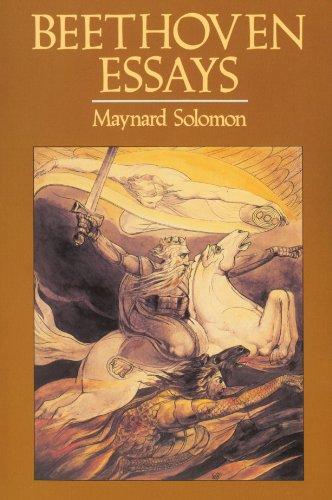 Beethoven Essays por Maynard Solomon