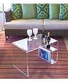 PlexCollection TAVOLINO Wohnzimmerschrank Modell A PLEXIGLASS transparent