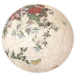 Suspension boule japonaise ou chinoise d cor imprim vintage green liberty - Suspension boule chinoise ...