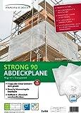 Rainexo Abdeckplane Transparent 4x6m; Stärke: 90g/m² - min. 3 Jahre UV Beständig