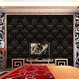 3D Simulation TV Wandtapete Aufkleber selbstklebender Aufkleber Ausgangsdekor des Wand Vintage Leder strukturierte Tapete PVC Wandbild wasserdicht (B)