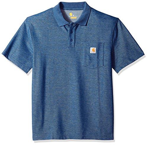 Carhartt Work Pocket Polo S/S Shirt - Poloshirt - Roll-kragen-jacke