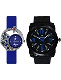 Volga Designer Watch With Combo Of Frida Watch For Men, Women, Girls And Boys