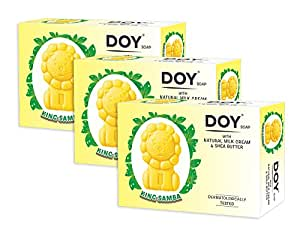 Doy Kids Samba Soaps, 75g (Pack of 3)
