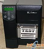 Zebra Z4M Thermo Etiketten Barcode Drucker + Software & Technische Unterstützung