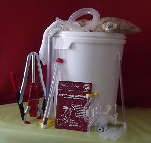 Großes Wein-Startset mit zwei 33 Liter Gärbehälter und viel Zubehör