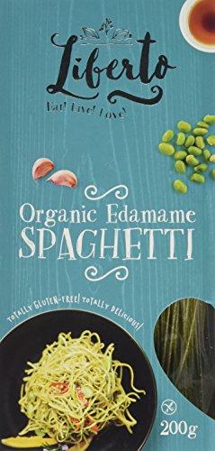 Liberto Organic Edamame Spaghetti 200 g (Pack of 6)
