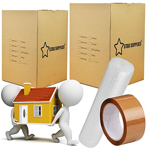 Star Supplies 10 Large Cardboard...