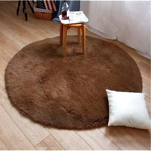 FQG*Wolldecken stuoie tavola rotonda minimalista di camera da letto, sala