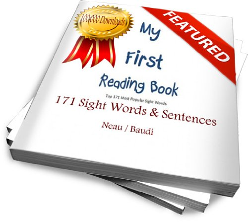 My First Reading Book (Top 171 Essential Sight Words & Sentences) (English Edition) (Top Dolch)