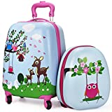 iPlay iLearn , Valigia per bambini  rosa Pink carry - on