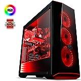 VIBOX Kite 11 Gaming PC Computer mit War Thunder Spiel Bundle (4,2GHz AMD FX 8-Core Prozessor, Nvidia GeForce GTX 1050 Grafikkarte, 8Go DDR3 1600MHz RAM, 3TB HDD, Ohne Betriebssystem)