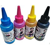 IPerfect -(100ML X 4C) Korean Sublimation Ink For Mugs, Plates, Cloths, Mobiles Covers, T-shirts Etc