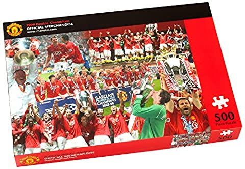 Paul Lamond Manchester United 2008 Double Champions Puzzle