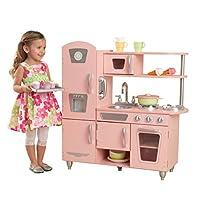 KidKraft 53179 Vintage Play Kitchen-Pink, 91 H x 33 W x 84 D cm