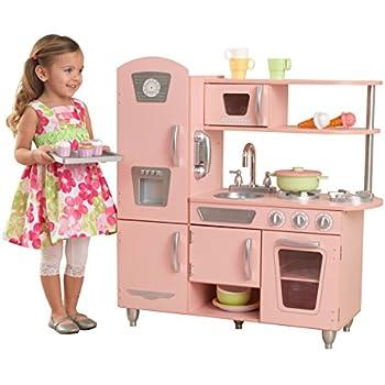 Kidkraft cuisine enfant en bois grand gourmet corner for Cuisine kidkraft rose