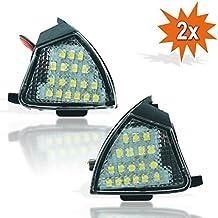 Do.LED 155 2 x LED SMD entorno iluminación lámpara espejo exterior charco ...