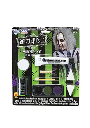 Deluxe Beetlejuice Makeup Kit Standard