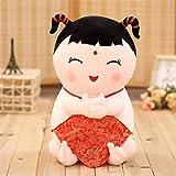 zbinbin Peluche Bambola in Porcellana da Collezione in Stile Nazionale Cinese in Porcellana, Regalo Nuziale 40Cm B