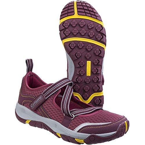 Cotswold donna' Norton leggero traspirante escursionisti scarpe Wine