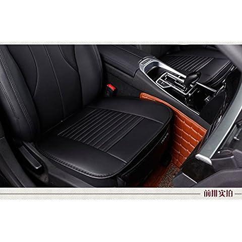 edealyn universal Super Suave Piel Sintética Fundas de Coche de Protección de cubierta de asiento de coche cojín de silla pad Mats para Auto Coche silla de oficina NO parte trasera de una silla