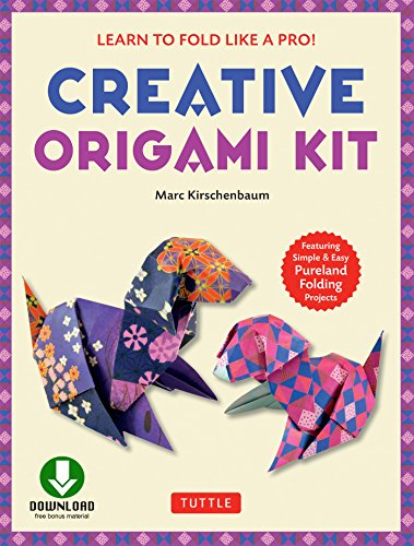 Creative Origami eBook: Learn to Fold Like a Pro!: Downloadable Video and 64-Page Origami Book: Original, Easy Origami for Kids or Adults (English Edition)