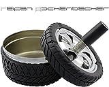 GYD Chromfelge Aschenbecher Drehascher 10cm. PIMP Reifen Werkstatt NEU