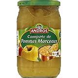 andros Compote pommes, en morceaux - ( Prix Unitaire ) - Envoi Rapide Et Soignée