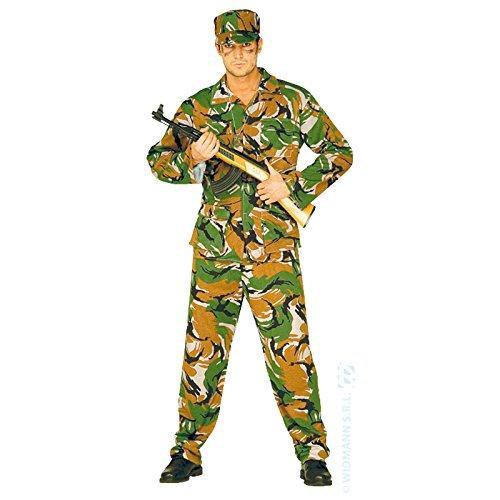 Widmann Authentisches Militär-Kostüm für Herren L