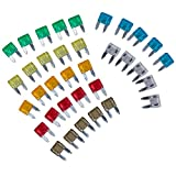 Car Motorbike Best Deals - SODIAL(R) 14536 35 Piece Mixed Mini Blade Fuse Auto Car Motorbike