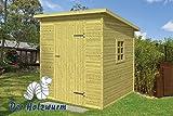 16 mm Gartenhaus Olaf ca. 200x200 cm