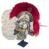 Römische Französische Helm/Griechisch Centurion–Reenactment/Larp/Rollenspiel oder Mottoparties/Theater + Gratis Helm Ständer