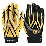 Wilson Clutch Receiver Gloves - Yellow, Large - Best Reviews Guide