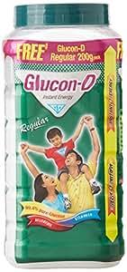 Glucon-D Instant Energy, 1 Kg Jar With Free Glucon-D Instant Energy 200g