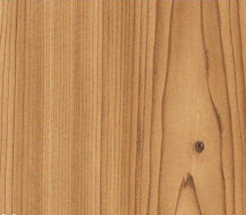Klebefolie Möbelfolie - Fichte - Holz Dekorfolie 45 cm x 15 Meter