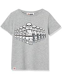 RED WAGON T-Shirt Lego Star Wars Bambino