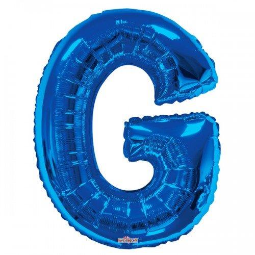 Kaleidoscope Folien-Luftballon in Buchstaben-Form, Blau, 86 cm (O) (Blau)