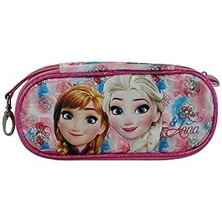 Disney Frozen Magic Caso Bolsos Escolar Estuche