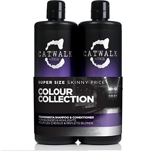 Tigi Catwalk Fashionista Duo Pack (Shampoo 750ml und Conditioner 750ml)