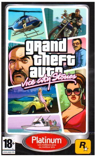 Take 2 GTA : Vice City Stories - Platinum by 2K - City Grand Psp Theft Auto Vice
