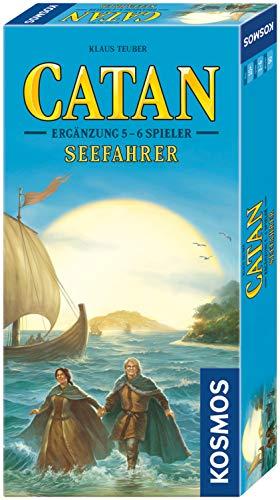 KOSMOS 694517 - CATAN - Seefahrer, Ergänzung für 5 - 6 Spieler, Strategiespiel