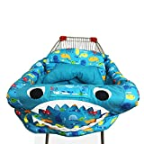 Per 3 in1 Shark Warenkorb COVER/Hochstuhl Abdeckung/Play Matte schützende Kissen Full Sicherheitsgeschirr Universal Fit faltbar für Baby