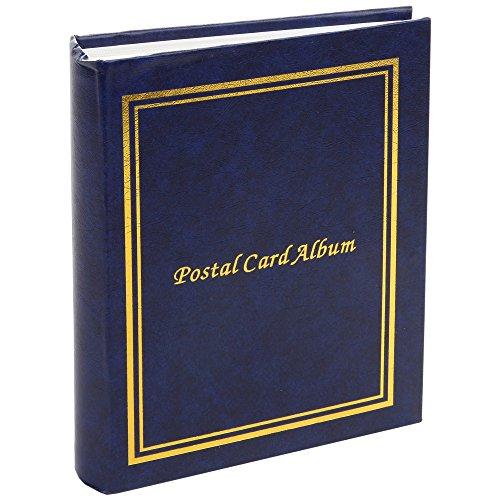 home-x-Postkarte Album, multi-paged Album mit Kunststoff Ärmeln und Schutzhüllen, Dokument und genießen Sie die sich von Freunden, Familie, und Kollegen -