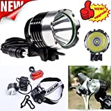 5000 Lumen CREE XM-L XML T6 LED Bicycle Bike light front Headlight