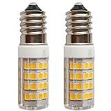 SFTlite [2er Pack Warmweiß] 4W E14 LED Lampe 51 SMDs Nicht Dimmbar - Ersatz für 35W Halogenlampen - 400lm - 3000K - 360°Abstrahwinkel - LED Leuchtmittel SES E14,Edison Schraube LED Birnen 220-240V AC [Energieklasse A+]