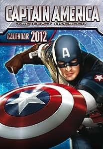 Captain America - Capitan America MARVEL Calendario 2012